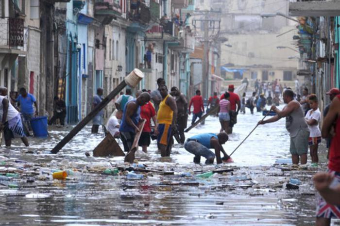 Orkaan/ouragan Irma Cuba